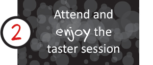 Easy to Join 2 - Attend and enjoy the taster session