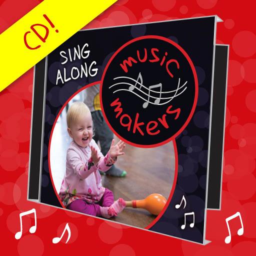 Music Makers Sing along music CD