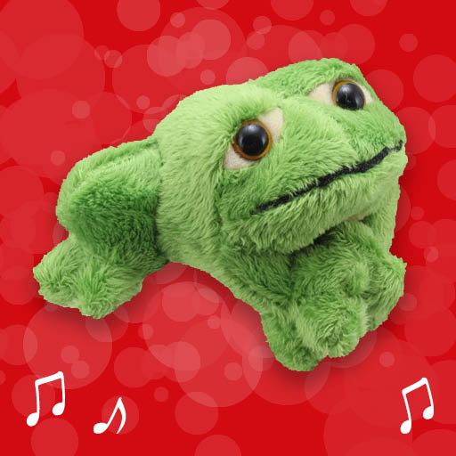 Little Green Frog Finger Puppet